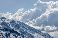Clouds drift Stock Photography