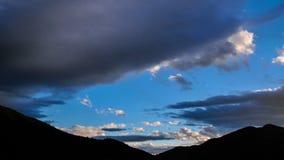 Clouds at Dusk Timelapse 4K. Clouds at Dusk Timelapse. 4K stock video