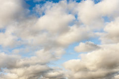 Clouds in early morning sky Royalty Free Stock Photos