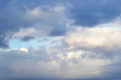 Clouds at evening Royalty Free Stock Photography
