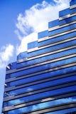 clouds företags Arkivbild