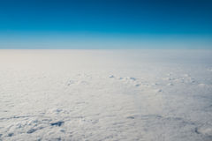 Clouds at 32,000 Feet Stock Images