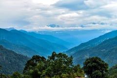 Beauty Of Himalayan mountain range royalty free stock photo