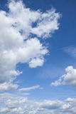 Clouds floating in blue sky Stock Images