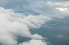 Clouds Floating in the Sky Stock Photography