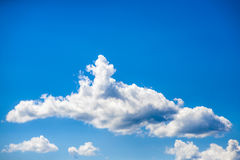 Clouds. Fluffy clouds over the blue sky Stock Photography