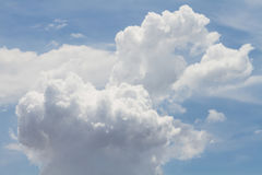 Clouds Form Phenomena Royalty Free Stock Images