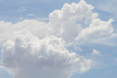 Clouds Form Phenomena Royalty Free Stock Photography
