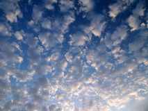 The clouds formation Royalty Free Stock Photo