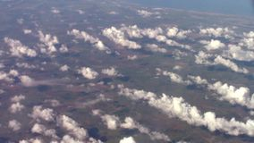 Clouds formation along Persian Golf coast stock footage