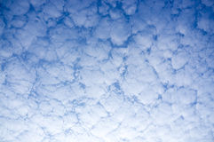 Clouds Formation Stock Image
