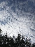 Sky background with clouds and Brushes.Photo Image Royalty Free Stock Photography