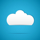 Clouds frame Stock Image