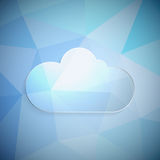 Clouds frame Royalty Free Stock Photography