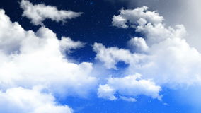 Clouds 02 stock footage