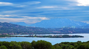 Clouds in Gallura Royalty Free Stock Photos