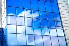 Clouds and Glass Stock Photography