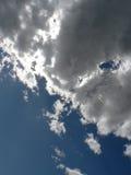 clouds grey Royaltyfria Foton