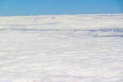 clouds havet arkivbild