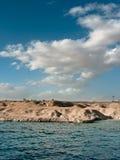 clouds havet Arkivfoto