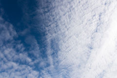 Clouds and heavens Stock Photos