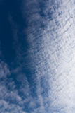 Clouds and heavens Royalty Free Stock Photos