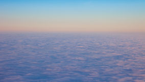 Clouds at high altitude Stock Photos