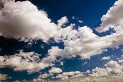 clouds himmel Arkivfoto
