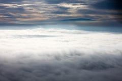 clouds himmel Arkivfoton