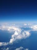 clouds himmel Royaltyfri Foto