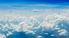 clouds horisonten Royaltyfria Foton