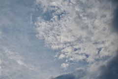 clouds horisonten Royaltyfri Bild