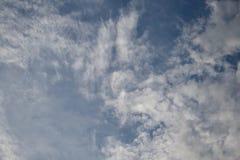 clouds horisonten Royaltyfri Fotografi