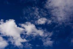 clouds horisonten Arkivfoton
