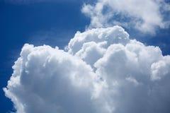 clouds horisonten Royaltyfri Foto