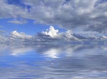 Clouds On Horizon royalty free stock photography