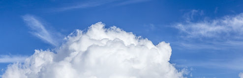 Clouds at the horizon Stock Photography