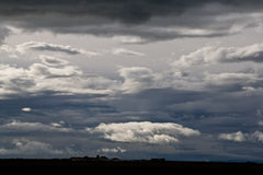 Clouds, Iceland Royalty Free Stock Images