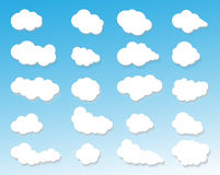 Clouds icon,cloudy sky,clouds blue sky,cloud background,clouds lighting. For web Royalty Free Stock Images