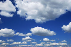 Clouds In The Sky Royalty Free Stock Images