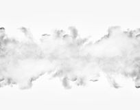 Clouds isolated on white background Royalty Free Stock Image
