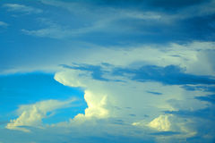 Clouds, Italy Royalty Free Stock Photography