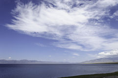 Clouds on the lake Royalty Free Stock Photography