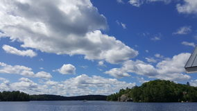 Clouds by the lake Stock Photos