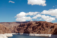 Clouds on Lake Mead Stock Image