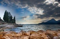 clouds laken royaltyfri fotografi