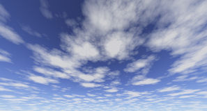Clouds Library-11 Royalty Free Stock Photo