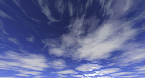 Clouds Library-12 Royalty Free Stock Photography