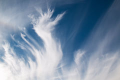 Clouds like Flames Royalty Free Stock Images