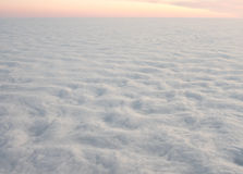 Clouds like waves Royalty Free Stock Photo